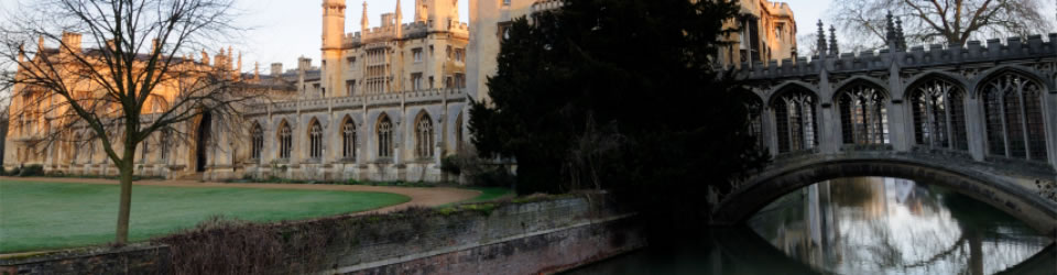 St Johns College and the bridge of Sighs